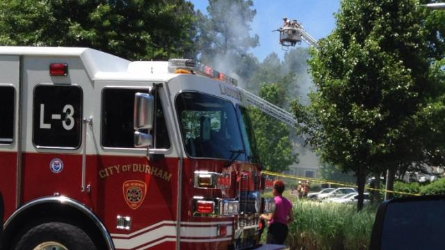 Fire Damages Several Units At Durham Apartment Complex Wral Com