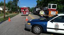 IMAGE: Gas leak prompts evacuations in Raleigh