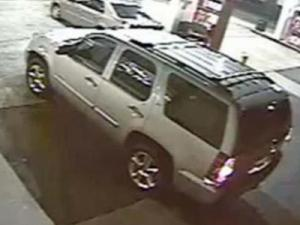 Raleigh police think the car in this surveillance photo may be a clue to a homicide Saturday on Capital Boulevard.