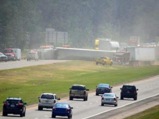 All northbound lanes of Interstate 95 were closed near exit 41 (N.C. Highway 59) in Fayetteville Wednesday afternoon because of a crash, the state Department of Transportation said. (Fayetteville Observer)