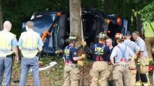 IMAGES: One killed, two injured in Raleigh I-40 wreck