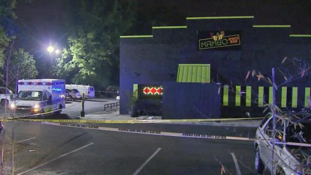 One person was taken to the hospital early Wednesday following an incident at a nightclub in north Raleigh, police said.
