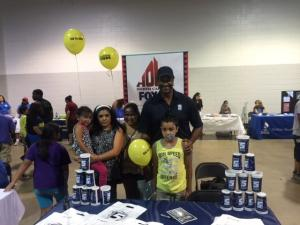 """For a better life"" was the theme of a Hispanic health and wellness event at the state fairgrounds Sunday."