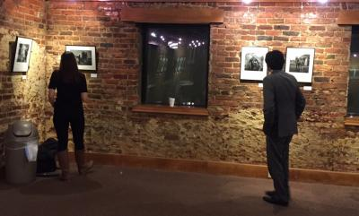 Friday was the opening reception to see the work of Pulitzer Prize winner José Galvez at Raleigh's City Gallery (118 South Person St.).