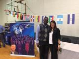 Hispanic career fair at Sanderson High School