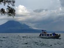 Lovely villages surround  Guatemala's Lake Atitlan