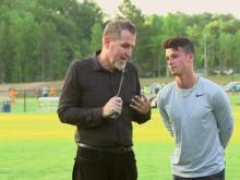 Local soccer coach helps underprivileged kids play