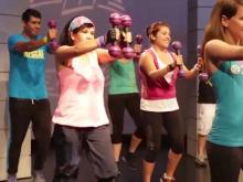Zumba makes working out fun