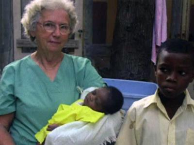 Helen Little, 79, is on her 43rd mission trip to Haiti.