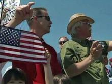 Tea party activists rally in Raleigh