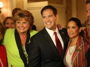 Sen. Marco Rubio (R-Florida) spoke to North Carolina's delegation Wednesday morning at the Republican National Convention.