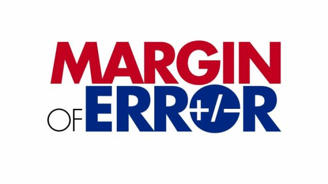 Logo for the Margin of Error blog.