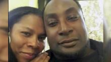 Keith Scott's wife had filed 2 restraining orders against him