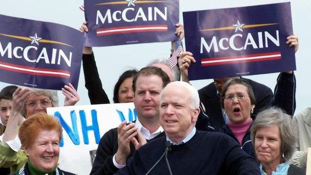 The oldest candidate ever nominated, John McCain's health became a major issue in the 2008 campaign. (Deseret Photo)