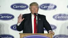 Trump visits Indiana, Carrier factory