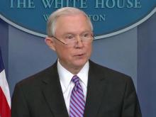 Sessions: Sanctuary cities 'make our nation less safe'