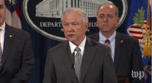 IMAGE: Sessions' call for maximum sentences confirms split among conservatives on criminal justice reform