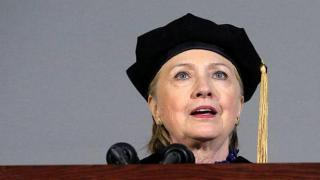 Clinton hurls zinger at Trump