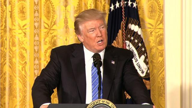 President Donald Trump will make good on a campaign promise Friday, June 23, 2017 when he signs a bill that gives leadership at the Department of Veterans Affairs more power to fire failed employees and protect those who uncover wrongdoing at the agency.