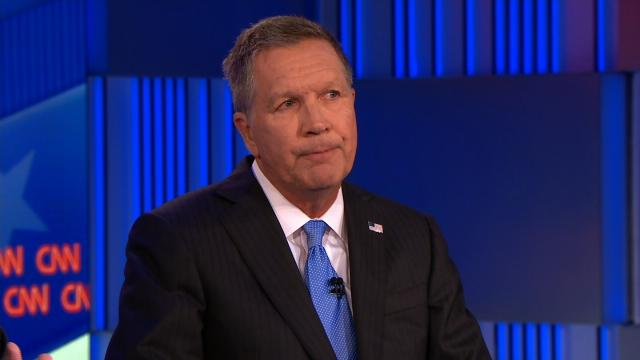 Gov. John Kasich speaks at a CNN town all on May 16, 2017. File Photo)