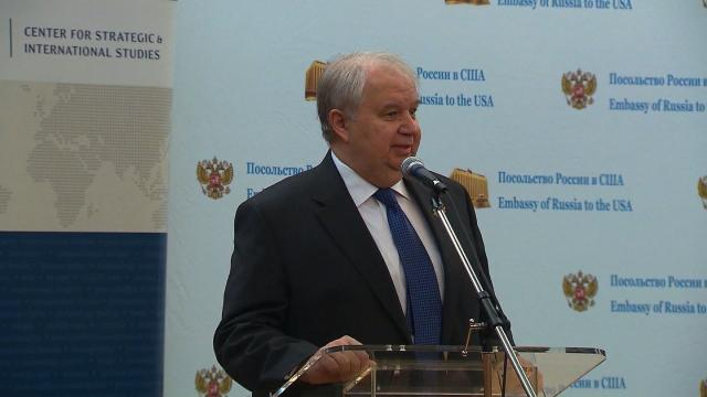 The Russian Ambassador to the US at the center of a political firestorm over his encounters with associates of President Donald Trump is leaving his post and returning to Moscow.