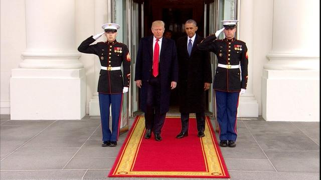 The President is unloading a barrage of attacks on Barack Obama, questioning his motivations in the Russia drama and taking aim at his political legacy, knowing that by choice and tradition, the former commander in chief only has a limited capacity to fight back.