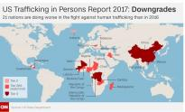 IMAGE: US lists China as among worst human trafficking offenders