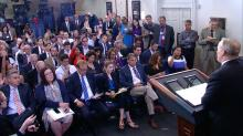 IMAGES: The White House is trying to kill the daily press briefing