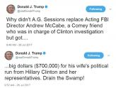 IMAGE: Trump rips Sessions, even as AG attends White House meeting