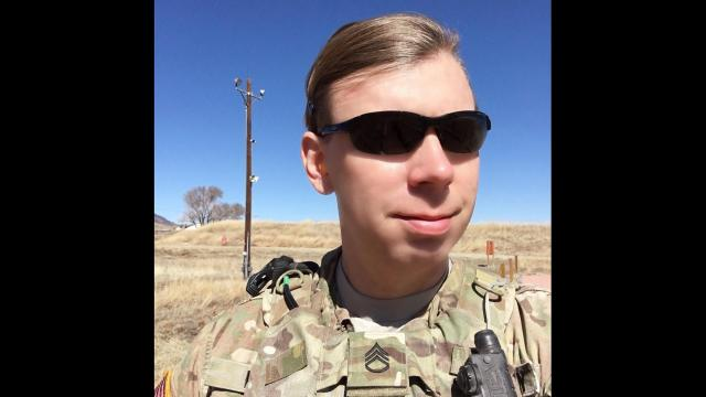 President Donald Trump announced the policy reversal of a ban on transgender people serving in the US military. Army Staff Sgt. Patricia King, a transgender woman, says she will keep reporting for duty.