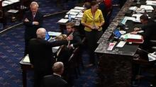 IMAGE: John McCain's maverick moment