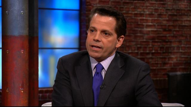 Anthony Scaramucci will not draw a White House salary, he told CNN Friday, July 28, 2017.