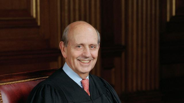 FILE -- Official portrait of U.S. Supreme Court Justice Stephen G. Breyer.