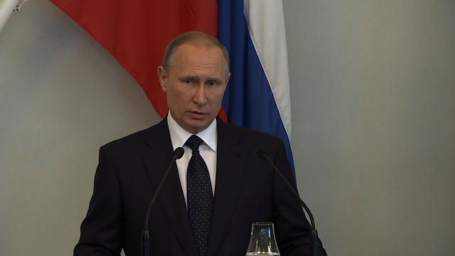 "Russian President Vladimir Putin said Thursday, July 27, 2017 that he ""very much regrets"" the worsening of relations between Russia and the United States."