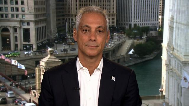 "hicago Mayor Rahm Emanuel defended his city's lawsuit against the Justice Department, telling CNN the DOJ's new stipulations against so-called sanctuary cities ""undermines our actual safety agenda."""
