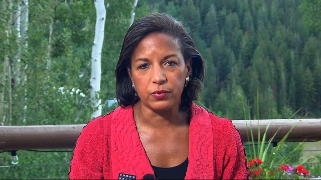 "Former national security adviser Susan Rice said the ""hot rhetoric"" coming from both Trump and North Korean leader Kim Jong Un could move the nations closer to war."