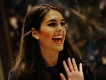 Trump names Hope Hicks as WH communications director