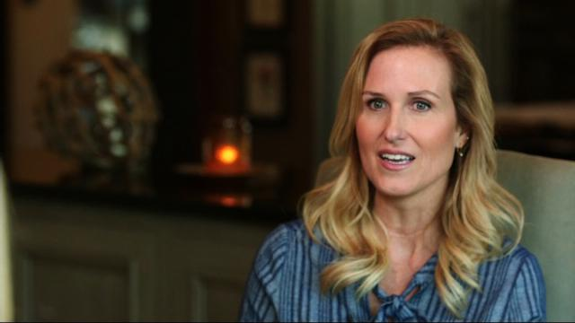 """Duck Dynasty"" star Korie Robertson speaks to CNN about President Trump on August 24, 2017."