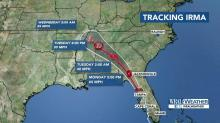 Updated Irma track