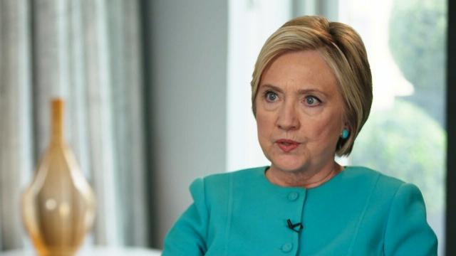 Hillary Clinton speaks to CNN'S Anderson Cooper about the 2016 presidential election.