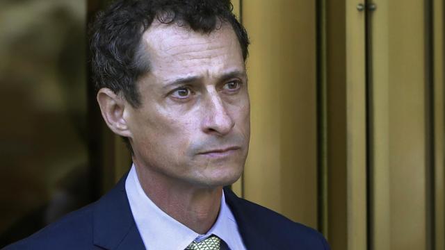 Anthony Weiner starts 21-month prison sentence