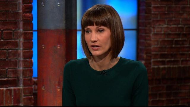Rachel Crooks, one of the women who has accused President Donald Trump of groping her, speaks on CNN's 'New Day' on December 4, 2017.