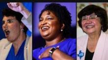 IMAGES: SUSAN CHIRA & MATT FLEGENHEIMER: Stacey Abrams didn't play it safe. Neither are these female candidates