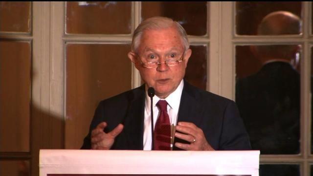 Sessions defends Trump on immigration policy.