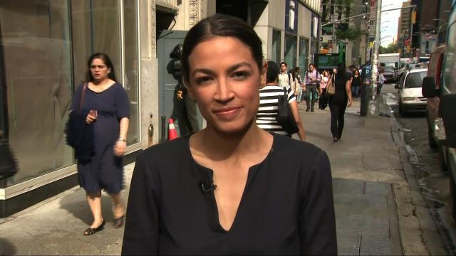 Alexandria Ocasio-Cortez, 28, spoke on June 27 to CNN after defeating Rep. Joe Crowley in the Democratic primary for New York's 14th congressional district.