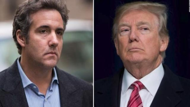 President Donald Trump on Friday denied his former personal attorney Michael Cohen's claim that he knew in advance about a highly controversial 2016 Trump Tower meeting. (FILE)