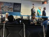 IMAGE: PHOTO: Robert Mueller and Donald Trump Jr. spotted at same airport gate