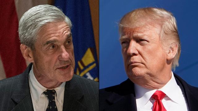 Trump says Sessions should end Mueller investigation 'right now'