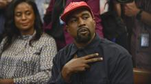 IMAGES: Kanye West Upstages Trump With a 10-Minute Oval Office Rant