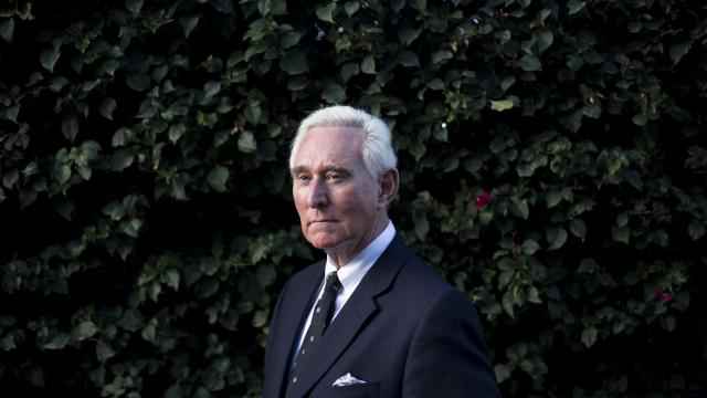 FILE -- Longtime political operative Roger Stone in La Quinta, Calif., on March 3, 2017. Senior Trump campaign officials have told investigators that they viewed Stone as a conduit to WikiLeaks during the 2016 campaign, but Stone says he was merely hyping what he knew. (Jenna Schoenefeld/The New York Times)